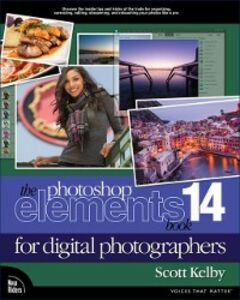 Ebook in inglese Photoshop Elements 14 Book for Digital Photographers Kelby, Scott