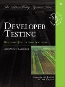 Ebook in inglese Developer Testing Tarlinder, Alexander