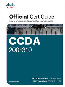 Foto Cover di CCDA 200-310 Official Cert Guide, Ebook inglese di Anthony Bruno,Steve Jordan, edito da Pearson Education