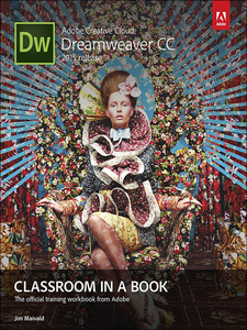 Ebook in inglese Adobe Dreamweaver CC Classroom in a Book Maivald, Jim