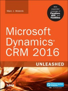 Ebook in inglese Microsoft Dynamics CRM 2016 Unleashed (includes Content Update Program) Wolenik, Marc
