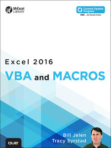 Ebook in inglese Excel 2016 VBA and Macros Jelen, Bill , Syrstad, Tracy