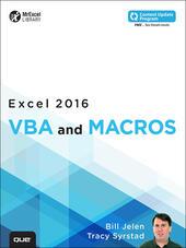 Excel 2016 VBA and Macros