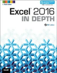 Ebook in inglese Excel 2016 In Depth (includes Content Update Program) Jelen, Bill