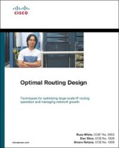 Ebook in inglese Optimal Routing Design Retana, Alvaro , Slice, Don , White, Russ