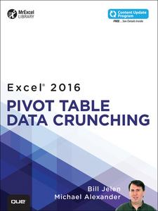Ebook in inglese Excel 2016 Pivot Table Data Crunching Alexander, Michael , Jelen, Bill