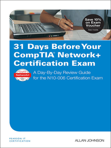 Ebook in inglese 31 Days Before Your CompTIA Network+ Certification Exam Johnson, Allan