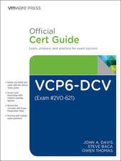 VCP6-DCV Official Cert Guide (Exam #2VO-621)