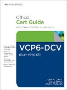 Foto Cover di VCP6-DCV Official Cert Guide (Exam #2VO-621), Ebook inglese di AA.VV edito da Pearson Education