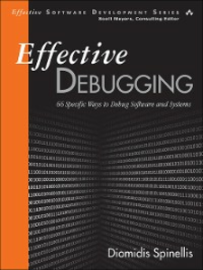 Ebook in inglese Effective Debugging Spinellis, Diomidis