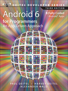 Ebook in inglese Android 6 for Programmers Deitel, Harvey , Deitel, Paul , Wald, Alexander