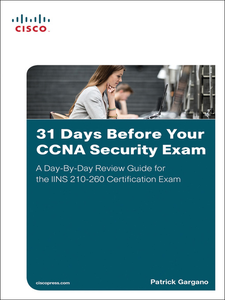 Ebook in inglese 31 Days Before Your CCNA Security Exam Gargano, Patrick