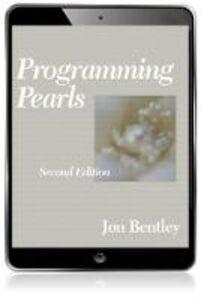 Ebook in inglese Programming Pearls Bentley, Jon