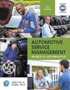 Automotive Service Management - Andrew Rezin - cover