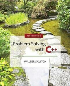 Problem Solving with C++ - Walter Savitch - cover