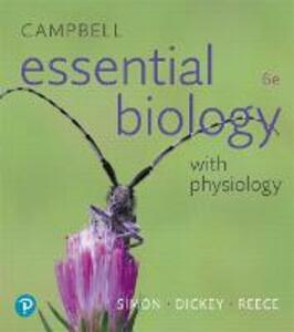 Campbell Essential Biology with Physiology - Eric J. Simon,Jean L. Dickey,Jane B. Reece - cover