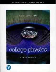 Student Solutions Manual for College Physics: A Strategic Approach Vol 2 (Chs 17-30) - Randall D. Knight,Brian Jones,Stuart Field - cover