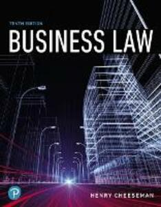Business Law - Henry R. Cheeseman - cover