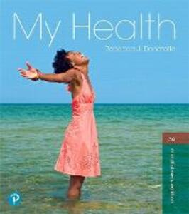 My Health - Rebecca J. Donatelle - cover