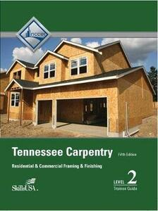 Tennessee Carpentry Level 2 Trainee Guide - NCCER - cover