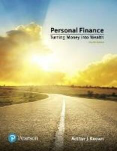 Personal Finance - Arthur J. Keown - cover