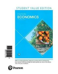Economics, Student Value Edition - Michael Parkin - cover
