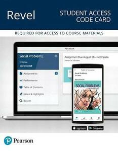 Revel for Social Problems in a Diverse Society -- Access Card - Diana Kendall - cover