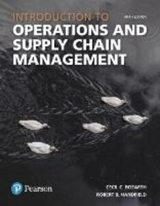 Introduction to Operations and Supply Chain Management - Cecil B. Bozarth,Robert B. Handfield - cover