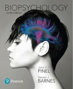 Biopsychology Plus Mylab Psychology with Pearson Etext -- Access Card Package - John P J Pinel,Steven Barnes - cover