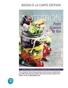 Nutrition: From Science to You, Books a la Carte Edition - Joan Salge Blake,Kathy D Munoz,Stella Volpe - cover