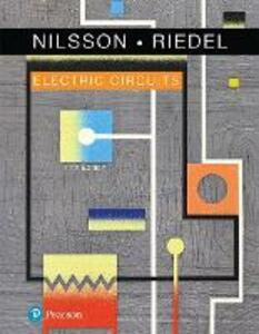 Electric Circuits - James W. Nilsson,Susan Riedel - cover