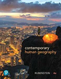 Contemporary Human Geography Plus Mastering Geography with Pearson Etext -- Access Card Package - James M Rubenstein - cover