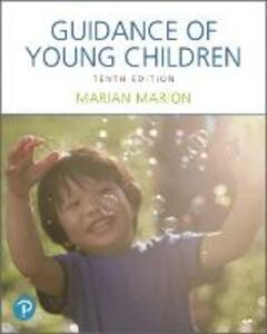 Guidance of Young Children - Marian C. Marion - cover