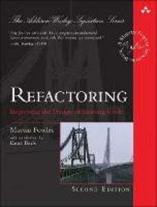 Refactoring: Improving the Design of Existing Code - Martin Fowler - cover