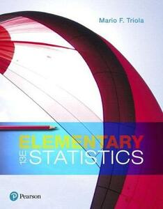Elementary Statistics, Books a la Carte Edition Plus Mylab Statistics with Pearson Etext -- Access Card Package - Mario F Triola - cover