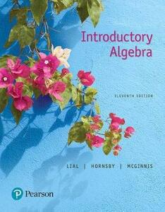 Mylab Math with Pearson Etext -- Standalone Access Card -- For Introductory Algebra - Marge Lial,John Hornsby,Terry McGinnis - cover