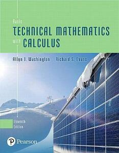 Mymathlab with Pearson Etext -- Standalone Access Card -- For Basic Technical Mathematics with Calculus - Allyn J Washington,Richard Evans - cover