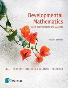 Mylab Math with Pearson Etext -- Standalone Access Card -- For Developmental Mathematics: Basic Mathematics and Algebra - Marge Lial,John Hornsby,Terry McGinnis - cover