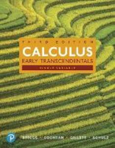 Calculus, Single Variable: Early Transcendentals - William L. Briggs,Lyle Cochran,Bernard Gillett - cover