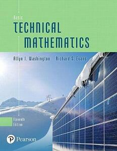 Basic Technical Mathematics Plus Mylab Math with Pearson Etext -- Title-Specific Access Card Package - Allyn J Washington,Richard Evans - cover