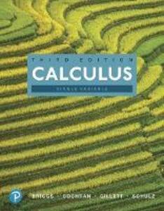 Calculus, Single Variable - William L. Briggs,Lyle Cochran,Bernard Gillett - cover