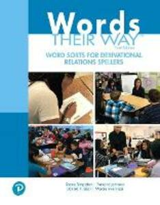 Words Their Way Word Sorts for Derivational Relations Spellers - Shane Templeton,Francine Johnston,Donald R. Bear - cover