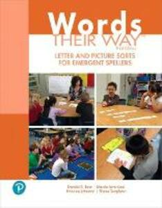 Words Their Way Letter and Picture Sorts for Emergent Spellers - Donald R. Bear,Marcia Invernizzi,Francine Johnston - cover