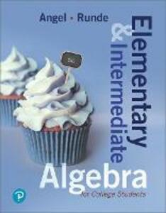 Elementary and Intermediate Algebra for College Students Plus Mylab Math -- Access Card Package - Allen R Angel,Dennis Runde - cover