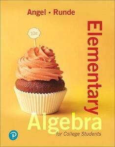 Elementary Algebra for College Students Plus Mylab Math -- Access Card Package - Allen R Angel,Dennis Runde - cover