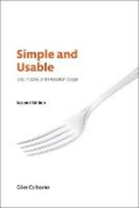 Simple and Usable Web, Mobile, and Interaction Design - Giles Colborne - cover