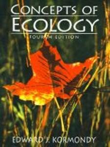 Concepts of Ecology - Edward J. Kormondy - cover