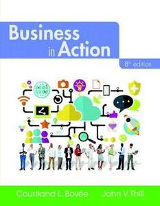 Business in Action Plus 2017 Mylab Intro to Business with Pearson Etext -- Access Card Package - Courtland L Bovee,John V Thill - cover