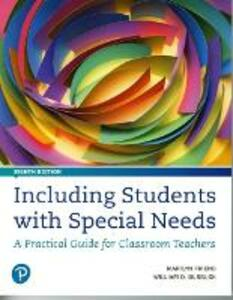 Including Students with Special Needs: A Practical Guide for Classroom Teachers - Marilyn Friend,William D. Bursuck - cover