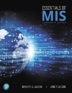 Essentials of MIS - Kenneth C. Laudon,Jane Laudon - cover